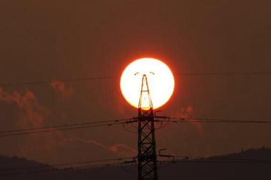 太陽がAAキャラのドクオになった瞬間